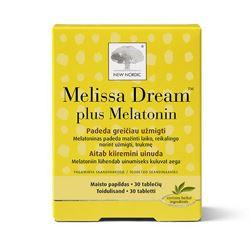 MELISSA DREAM PLUS MELATONIN TBL N30