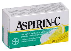 ASPIRIN-C KIHISEV TBL. 400MG+240MG N10