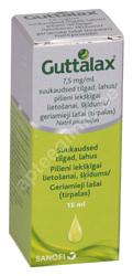 GUTTALAX SUUKAUDSED TILGAD LAHUS 7.5MG 1ML 15ML N1