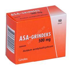 ASA-GRINDEKS TBL 500MG N50