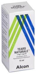 TEARS NATURALE SILMATILGAD LAHUS 3MG+1MG 1ML 15ML N1
