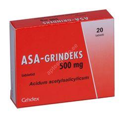 ASA-GRINDEKS TBL 500MG N20