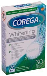 COREGA HAMBAPROTEESIDE PUHASTUSTABLETID DENTAL WHITE N30