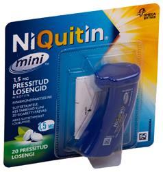NIQUITIN MINI PRESSITUD LOSENG 1.5MG N20