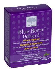 BLUE BERRY OMEGA-3 KAPSLID N60