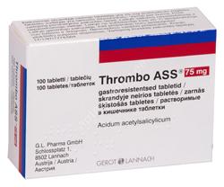 THROMBO ASS GASTRO. TBL 75MG N100