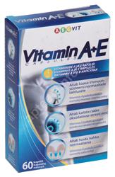 ABC VIT VITAMIIN A+E KAPSLID N60